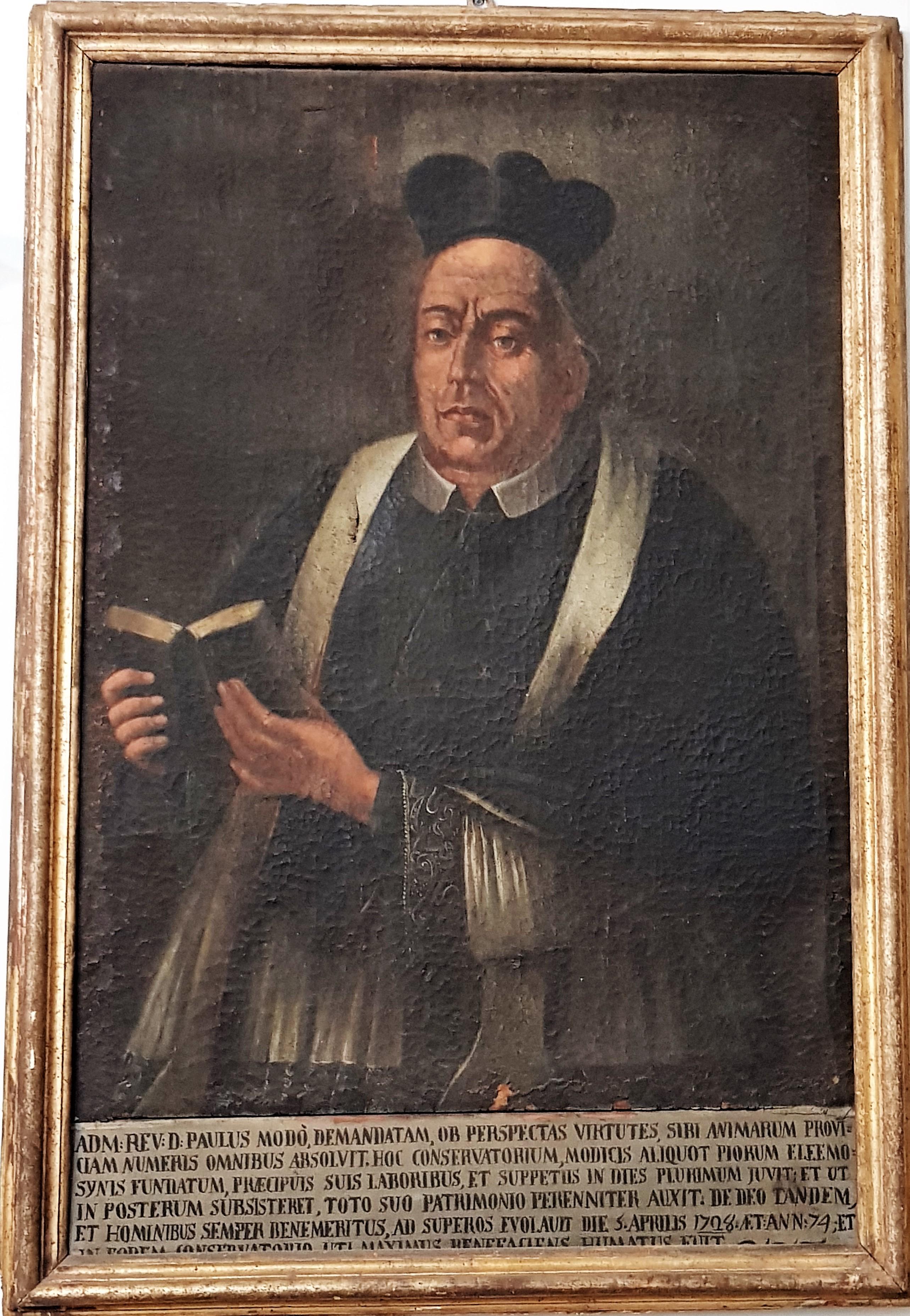Sacerdote Paolo Modò